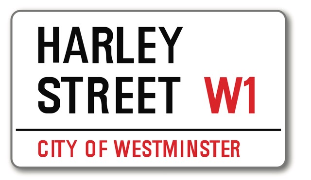 HarleyStreetSignBought